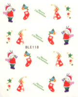 Kerst decal BLE 118