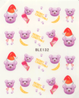 Kerst decal BLE 132
