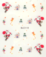 Kerst decal BLE 119