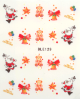 Kerst decal BLE 129