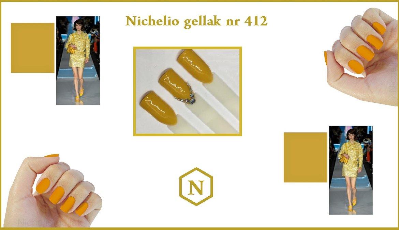 Nichelio gellak okergeel de trendsetter
