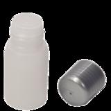 leeg flesje 30ml natural open met dop