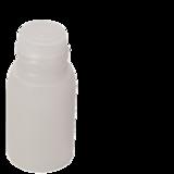 leeg flesje 30ml natural open