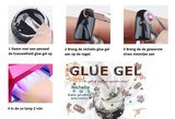 Step by step glue gel Nichelio