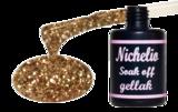 Nichelio soak off gellak - rose gold