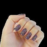 Nichelio soak off gellak - pink purple blue glitter