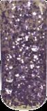 Nichelio soak off gellak - lilac glitter