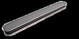 polijstvijl recht smal grijs extra dik 3 way