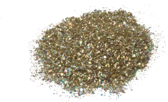 Hexagon glitter B36