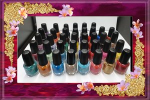 Mini nagellak 38 stuks 5ml lot 38