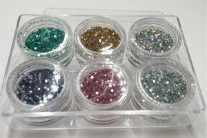 Lot 220 Glitterpoint Konad 6 st