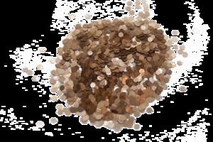 Glitter - L11 - zeshoekig