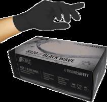 Nitril handschoenen zwart - MEDIUM