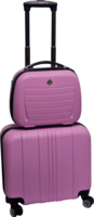 Duo business koffer Pink