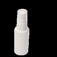 Leeg sprayflesje 30ml - wit