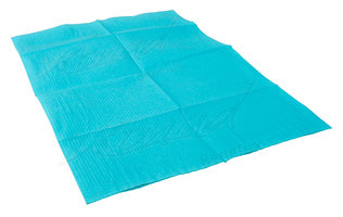Table towel blue 10 Blauw