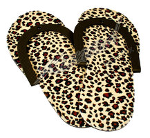 Pedicure teenslippers koeprint