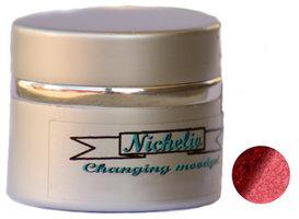 Nichelio Mood Gel Red darkred glitter