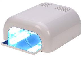 Uv lamp wit met timer wit