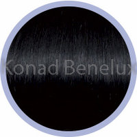 Hair extension Seiseta  1B - black-violet Zwart/violet