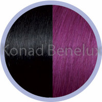 Hair extension Seiseta  1B/red violet Zwart/rood violet