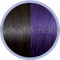Hair extension Seiseta  4/violet Kastanje-violet-bruin