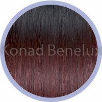 Hair extension Seiseta  1B-530 SHATUSH Zwart/diep donker rood