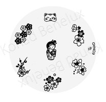 Konad Image Plate(Special)-09