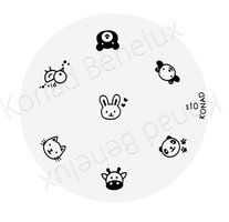 Konad Image Plate(Special)-10
