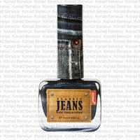 Jeans nagellak Mid night blue