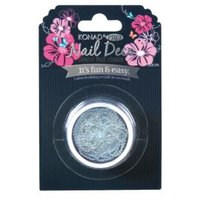 Pro Nail Deco Metal Ball Chain Silver