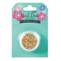 Pro Nail Deco Point Glitter Gold