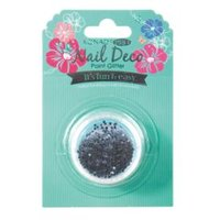 Pro Nail Deco Point Glitter blue-Black