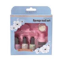 Sponge set - Pastel Green, Pastel violet, White