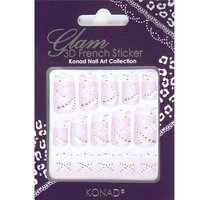 KGI-W04 Glam 3D french sticker