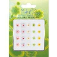 KC3D-04 3D nail sticker bloemetjes