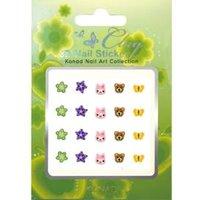 KC3D-05 meisjes 3D stickers