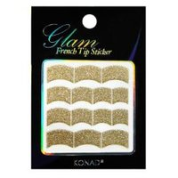 Glam French Sticker - Gold