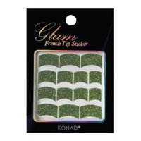 Glam French Sticker - Groen