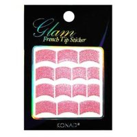 Glam French Sticker - pink