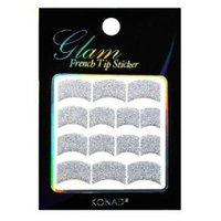 Glam French Sticker -Silver