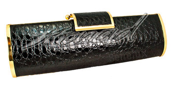 Gala tas black croc
