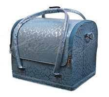 Beauty case tas Blue glaze