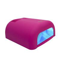 Uv lamp pink rubber met timers pink