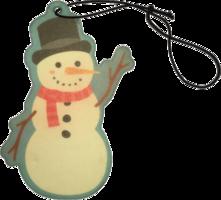 Auto geurhanger sneeuwman