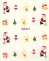 Kerst decal BLE 127