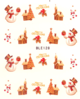 Kerst decal BLE 128