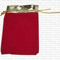 Luxe verpakking groot Rood-goud