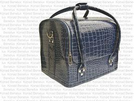 Beauty case tas donker blauw