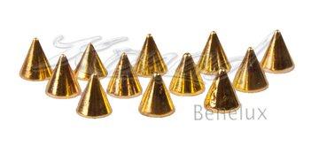 Studs piramide gold Gold